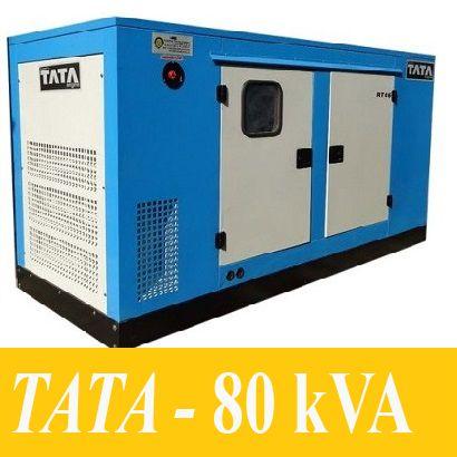 Máy Phát Điện 80kVA - TATA (India)