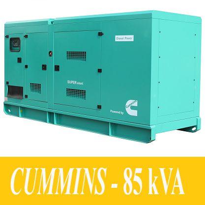 Máy Phát Điện 85kVA - CUMMINS (OEM)