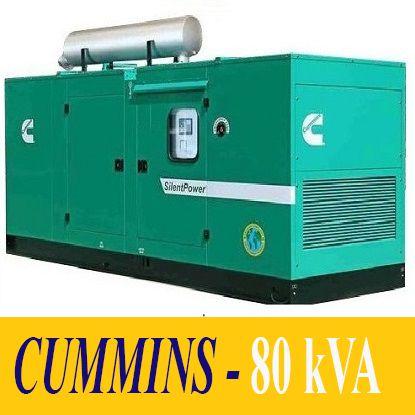 Máy Phát Điện 80kVA - CUMMINS (Chính Hãng)